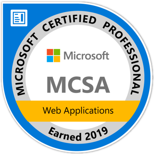 MCSA: Applications Web