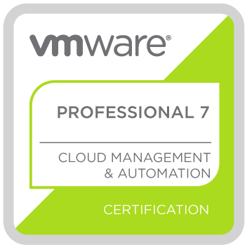 VCP - Cloud Management and Automation